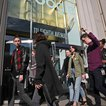 Employees leave Google in New York. (Bebeto Matthews/AP/Shutterstock)