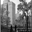 Looking southwest toward 18 Gramercy Park South, 1929. (88.1.1.669)<br/>