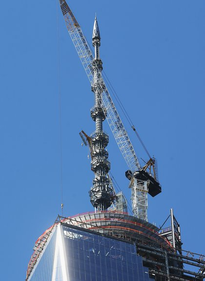 Getting the spire