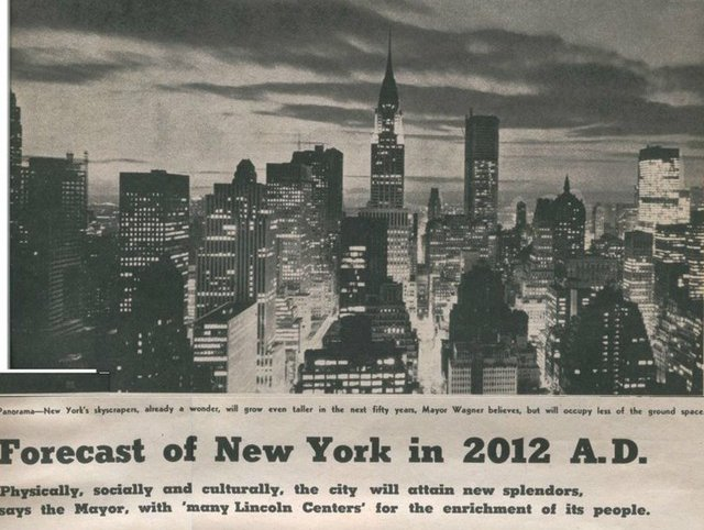 How New Yorkers In 1962 Saw New York In 2012 - Gothamist