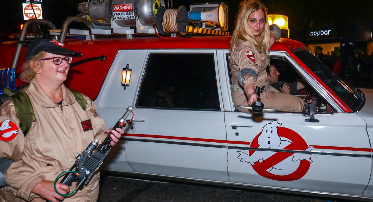 Photos: The Most Incredible Costumes At The Huge Village Halloween Parade