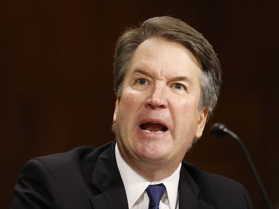 Supreme Court nominee and alleged sexual predator Brett Kavanaugh displays the sort of the judicial temperament one has come to expect in the Trump era.