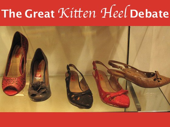 What Are Kitten Heels