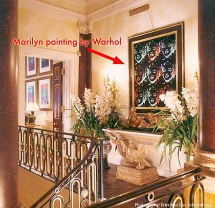 London Townhouse: Who knew Bloomberg liked Marilyn Monroe?!?