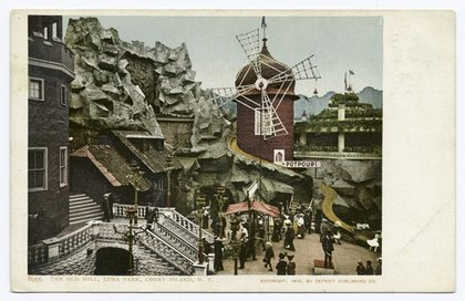 The Old Mill, Luna Park via the New York Public Library