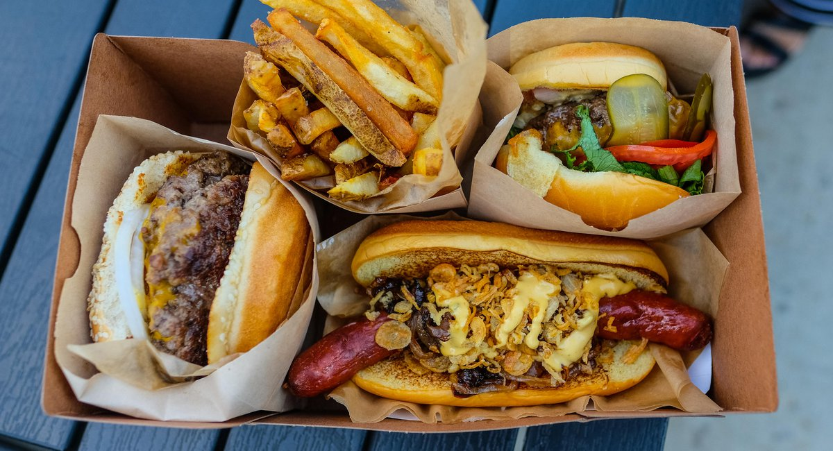 """Wildair's New Burger Stand """"Mighties"""" Leads Market Line's Grand Reopening"""