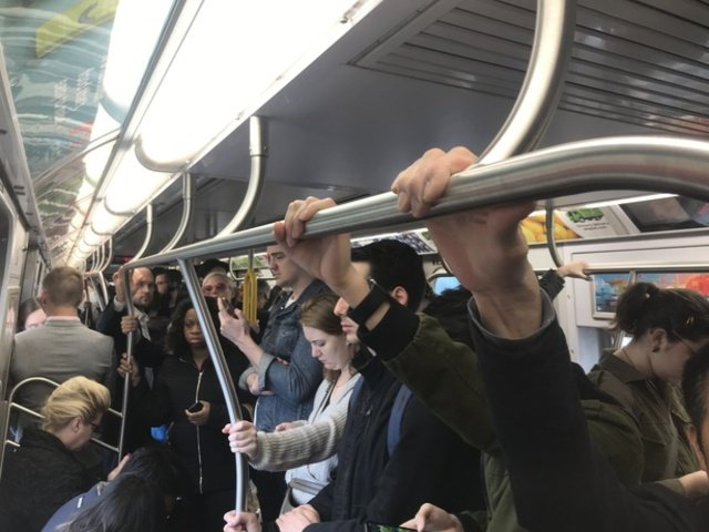 """Riders found themselves trapped on M trains last night; meanwhile, this morning's commute was beset by an """"earlier problem"""""""