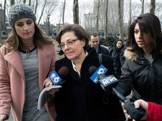 Nxivm co-founder Nancy Salzman pleaded guilty to racketeering on Wednesday.