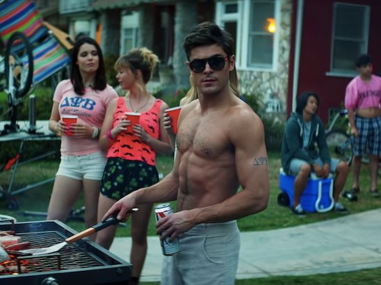 Fancy Brooklyn tenants have found themselves living the plot of 2014's 'Neighbors,' in which a suburban couple's quiet home life is interrupted by fraternity miscreants who move in next door.