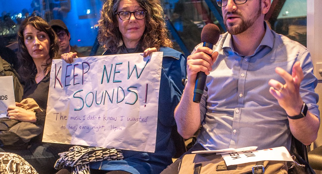 After Canceling New Sounds, WNYC Leaves The Door Open For A Reversal