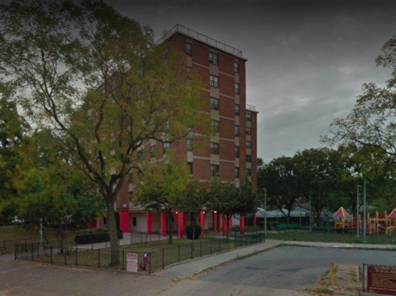 Part of NYCHA's sprawling Throggs Neck complexes in the Bronx