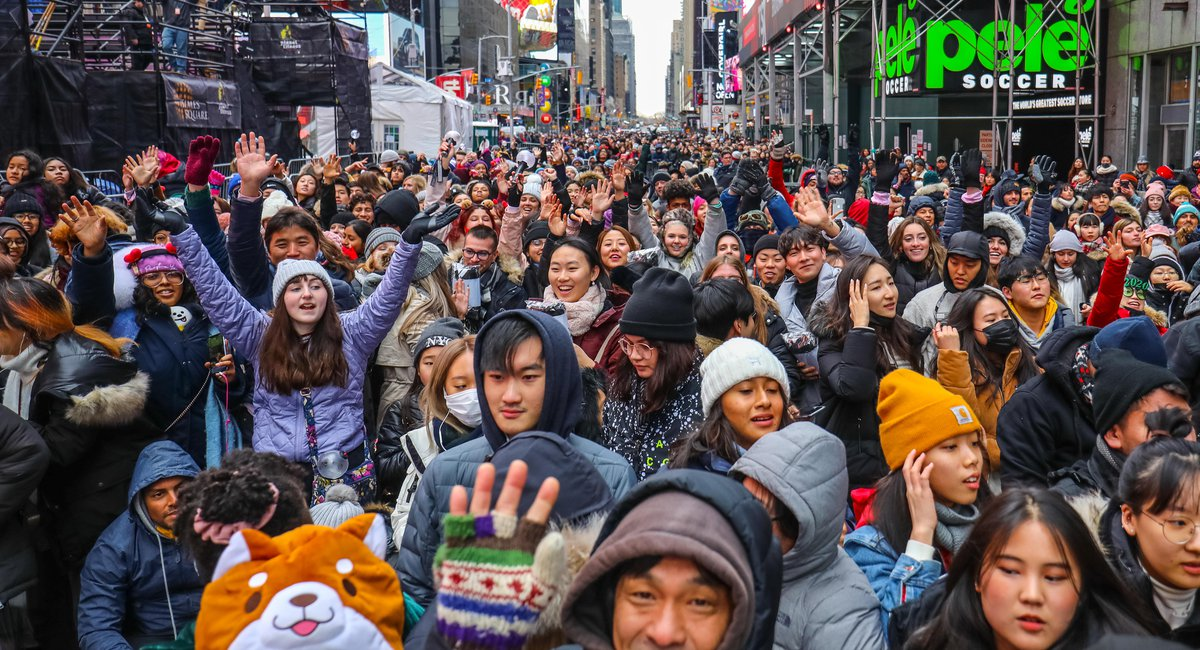 'It's The Center Of The Universe': Revelers Explain Why They're Camping Out In Times Square For New Year's Eve (And BTS)
