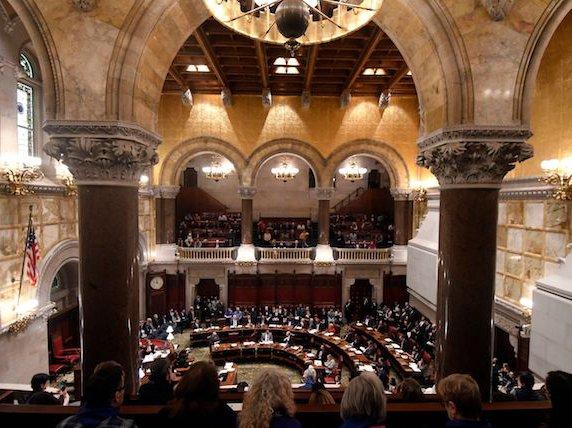The NY State Senate.