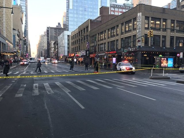 The intersection where Chaim Joseph was killed