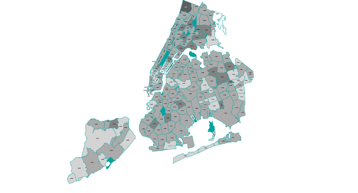 Map: Here's Where The COVID Variants Are Spreading Most In NYC