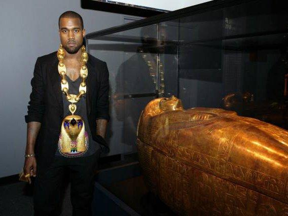 Kanye Visits Tut! - Gothamist