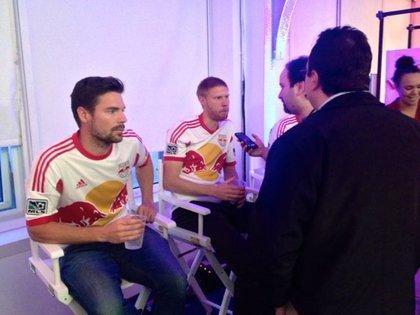 Heath Pearce and Markus Holgersson.