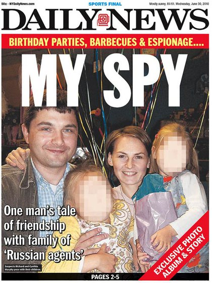 """The Daily News' cover looks at """"Richard and Cynthia Murphy"""""""