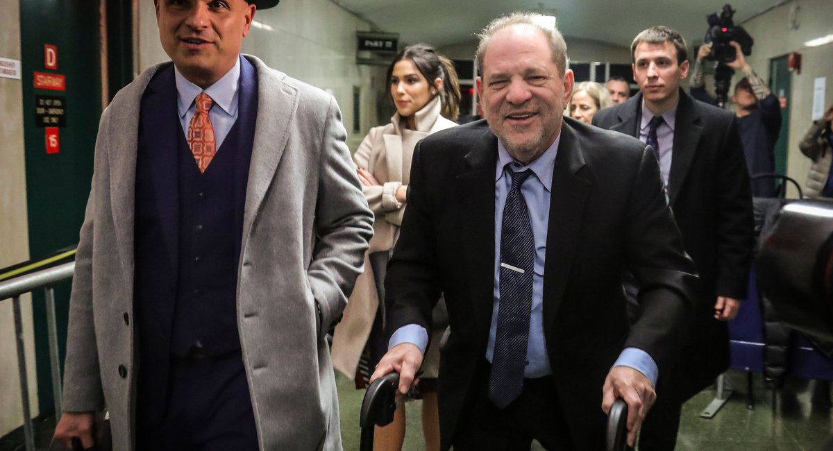 Weinstein Rape Accuser Testifies About Relationship With 'Deformed' Mogul