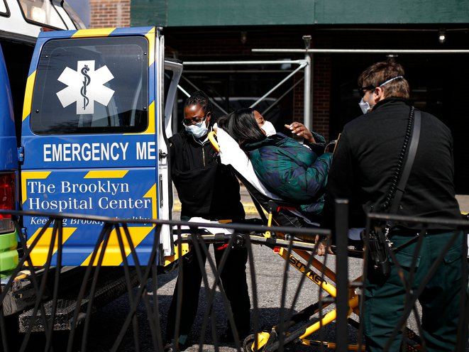 "As Emergency Calls Spike, EMS Workers Are ""Barely Holding The Line"""