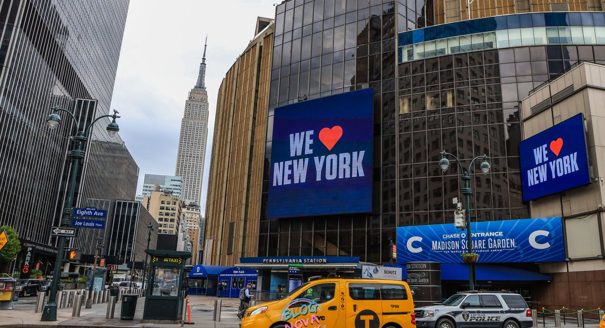 Madison Square Garden Will Be A Polling Site For The 2020 Election ...