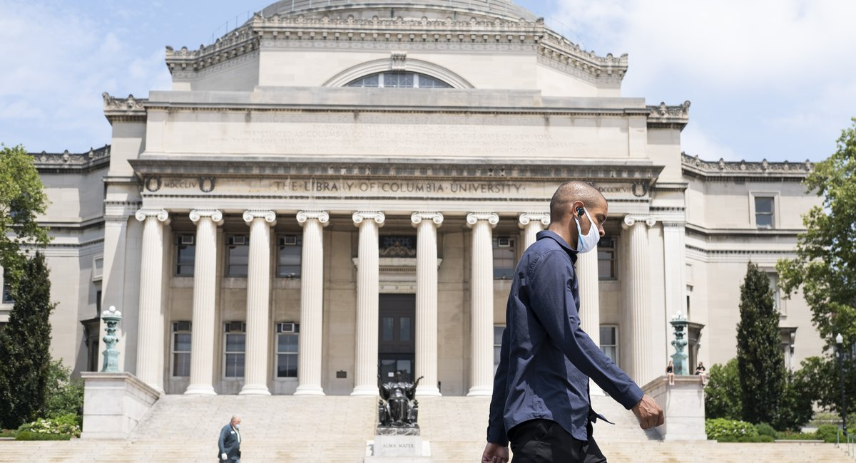 Columbia University spokesperson Christopher Cashman said the trip violated the school's policy restricting organized group travel.