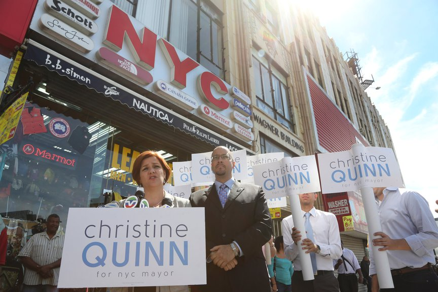 Christine Quinn, September 2013.