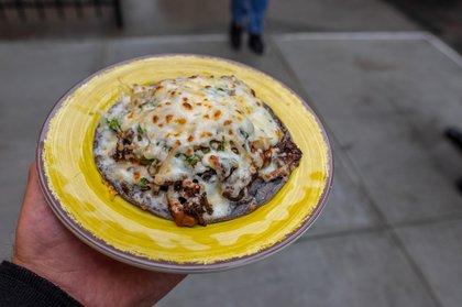 Mushroom Chorizo Quesadilla ($10)