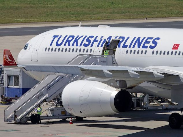 A Turkish Airlines flight