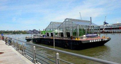 Floating urban farm, 2007