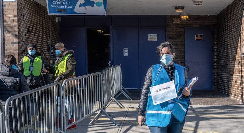 City-Run COVID Vaccine Sites Now Open To Walk-Ins From New Yorkers Who... image