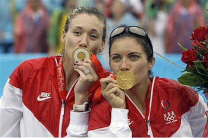Walsh and May-Treanor are thrilled to have gold medals again.