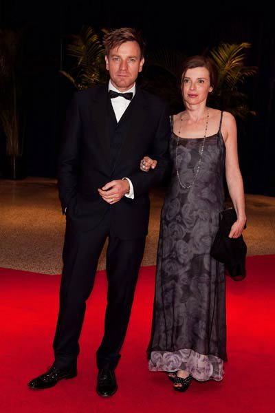 Ewan Macgregor and his wife Eve