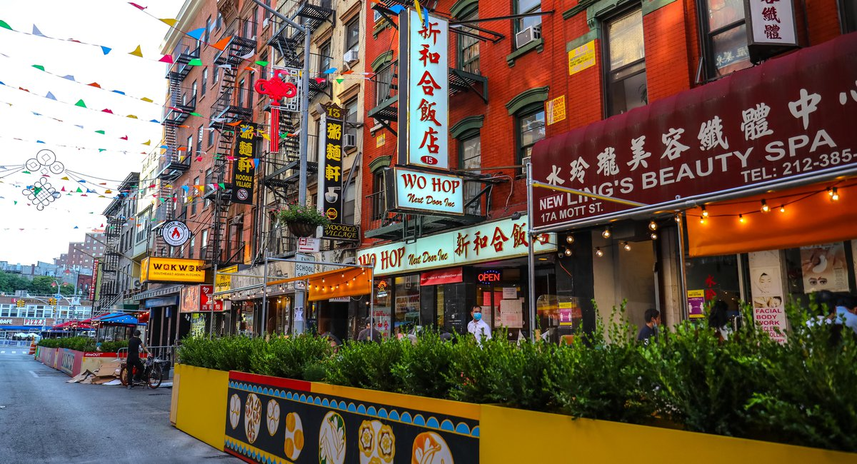 Nyc Opens 21 More Locations For Outdoor Dining Including Parts Of Chinatown Gothamist
