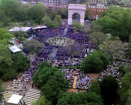 nyu commencement, by j_bary at flickr