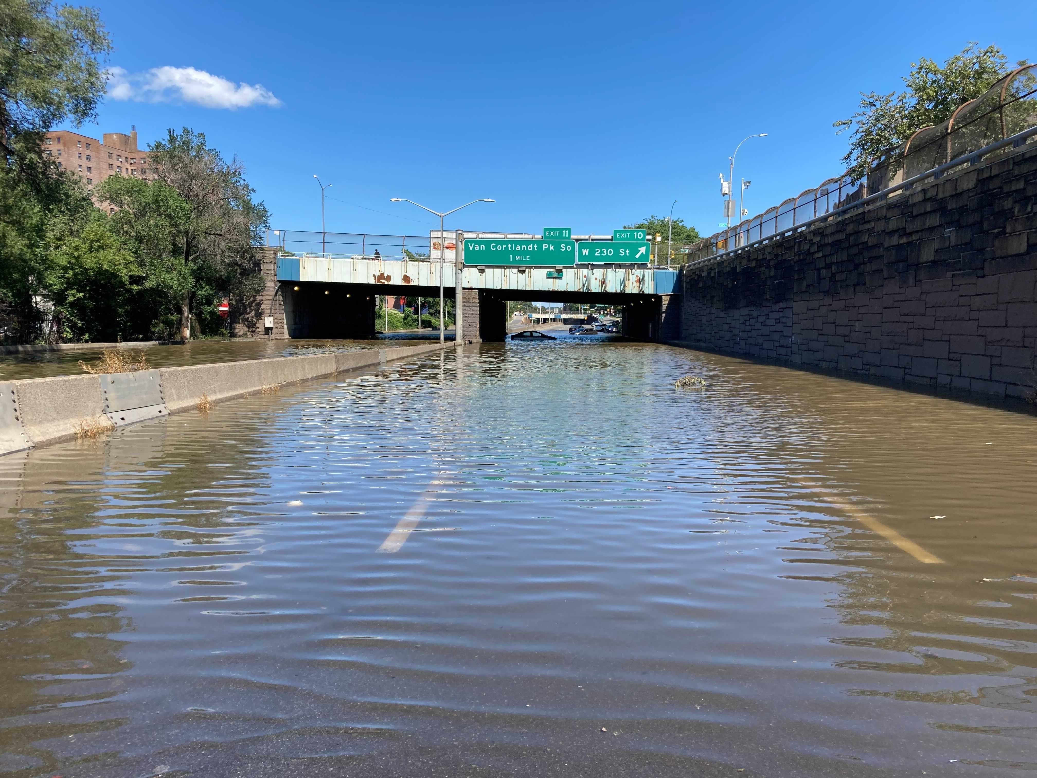 The Major Deegan Expressway on Thursday