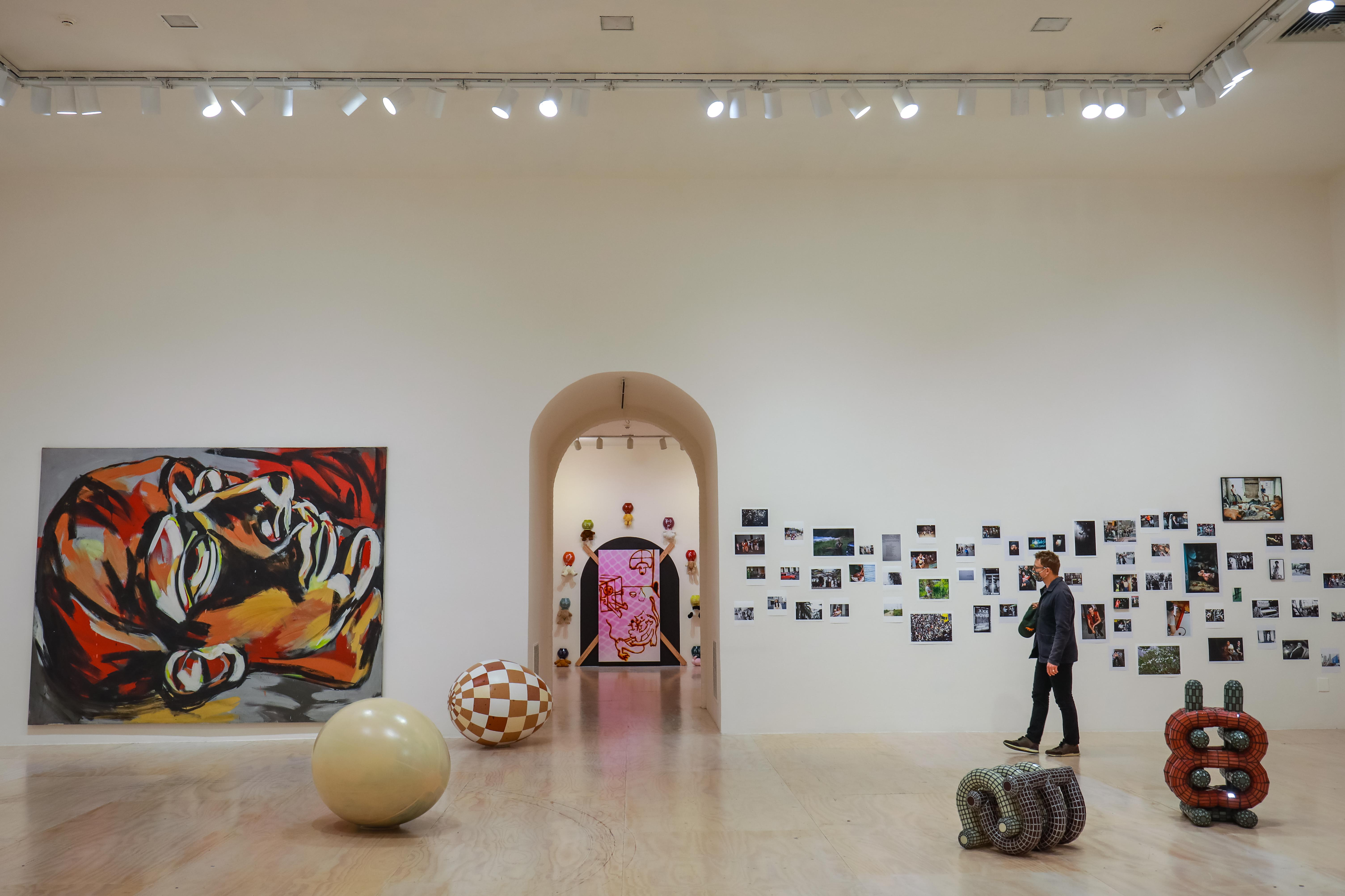 داخل نمایشگاه MoMA PS1 نیویورک بزرگ