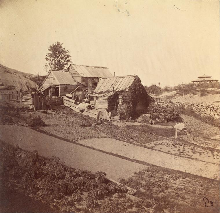 Central Park in 1862.