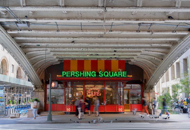 رستوران پرسینگ میدان در گرند سنترال