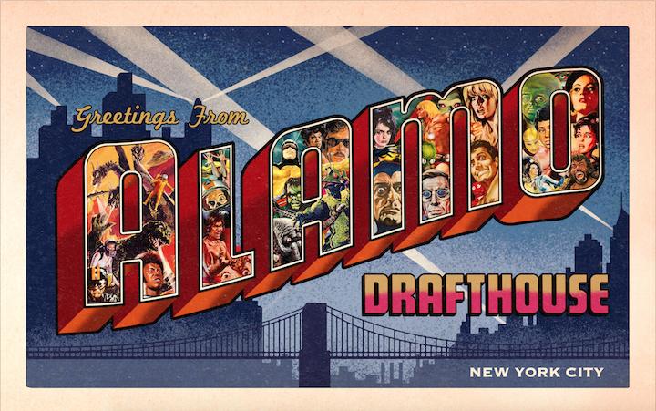 کارت پستال برای Alou Drafthouse در جنوب منهتن
